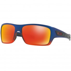 Oakley Turbine Neon Sunglasses - Orange Pop Fade/Prizm Ruby