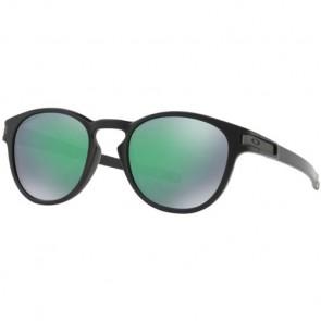 Oakley Latch Prizm Sunglasses - Matte Black/Jade Iridium