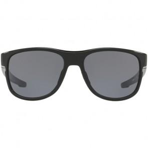 Oakley Crossrange R Sunglasses - Polished Black/Grey