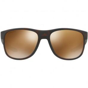 Oakley Crossrange R Polarized Sunglasses - Matte Tortoise/Prizm Tungsten