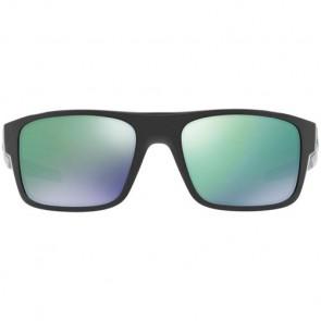 Oakley Drop Point Sunglasses - Black Ink/Jade Iridium