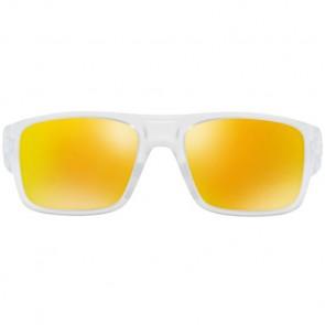Oakley Drop Point Sunglasses - Matte Clear/Fire Iridium