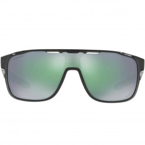 Oakley Crossrange Shield Sunglasses - Black Ink/Prizm Jade Iridium