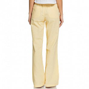 Roxy Women's Oceanside Pants - Sahara Sun