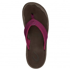 Olukai Women's 'Ohana - Pokeberry/Dark Java