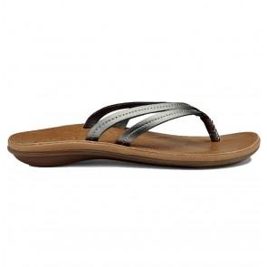 Olukai Women's U'I Sandals - Pewter/Sahara
