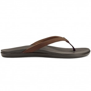 Olukai Women's Ho'Opio Sandals - Dark Java