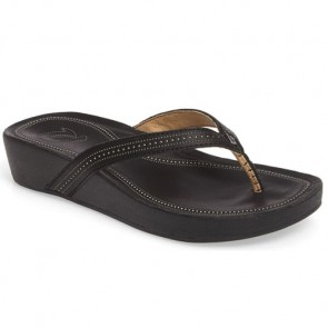 Olukai Women's Ola Sandals - Black