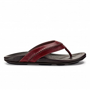Olukai Mea Ola Sandals - Terra/Dark Wood