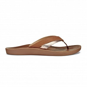 Olukai Women's Kaekae Sandals - Sahara/Bubbly