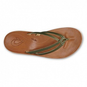 Olukai Women's U'i Sandals - Dusty Olive/Sahara
