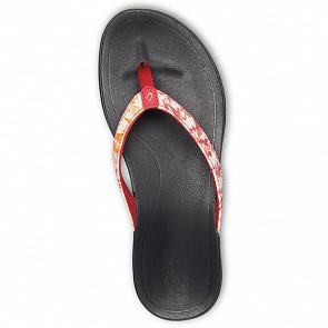Olukai Womens Ho'Opio Sandals - Passoin Flower/Lehua