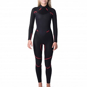 Rip Curl Women's Omega 4/3 Back Zip Wetsuit