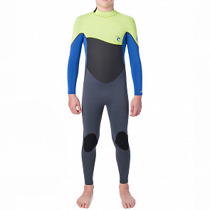 Rip Curl Youth Omega 4/3 Back Zip Wetsuit