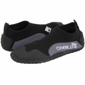 O'Neill Reactor 2mm Reef Boots - Black/Grey