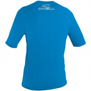 O'Neill Wetsuits Youth Basic Skins Rash Tee - Brite Blue