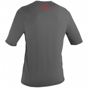 O'Neill Youth Basic Skins Rash Tee - Graphite