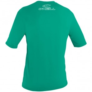 O'Neill Wetsuits Youth Basic Skins Rash Tee - Seaglass
