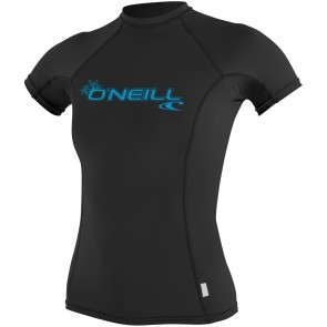 O'Neill Wetsuits Women's Basic Skins Crew - Black