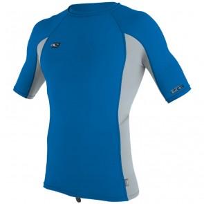 O'Neill Wetsuits Premium Skins Rash Guard - Ocean/Cool Grey