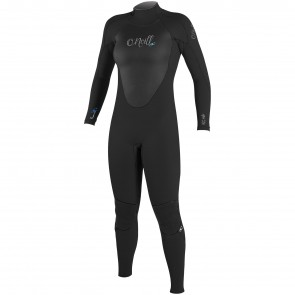 O'Neill Women's Epic 3/2 Back Zip Wetsuit - Black