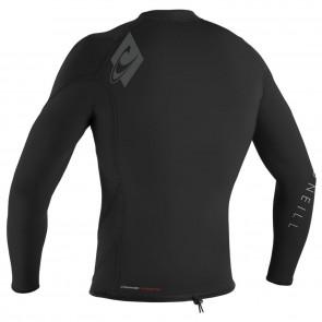 O'Neill Wetsuits HyperFreak 1.5mm Long Sleeve Jacket - Black