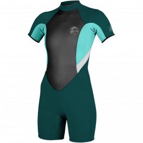 O'Neill Women's Bahia 2/1 Short Sleeve Spring Wetsuit