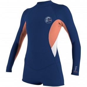 O'Neill Women's Bahia 2/1 Long Sleeve Short Spring Wetsuit - 2016