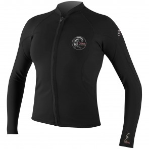 O'Neill Women's Bahia Full Zip Jacket - Black