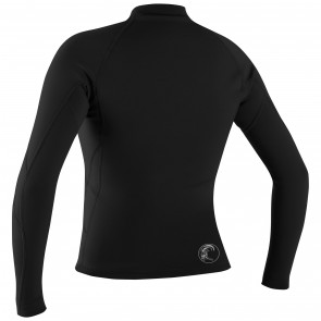 O'Neill Wetsuits Women's Bahia Full Zip Jacket - Black