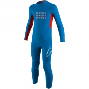 O'Neill Toddler Reactor 2mm Full Wetsuit - Bright Blue/Red