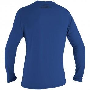 O'Neill Wetsuits Basic Skins Long Sleeve Rash Tee - Pacific