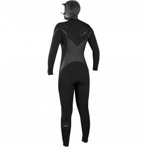 O'Neill Women's Psycho Tech 6/4 Hooded Wetsuit