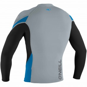 O'Neill Wetsuits HyperFreak 1.5mm Jacket - Cool Grey/Black/Bright Blue