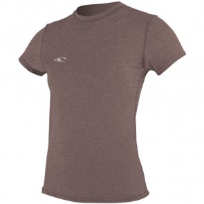 O'Neill Wetsuits Women's Hybrid Rash Tee - Pepper