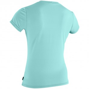 O'Neill Wetsuits Women's Skins Graphic Rash Tee - Seaglass