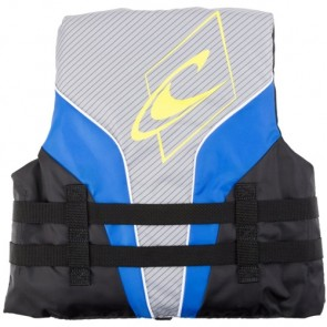 O'Neill Youth Superlite USCG PFD Vest - Pacific/Smoke/Black