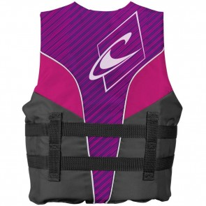 O'Neill Youth Superlite USCG PFD Vest - Ultra Violet/Smoke/Berry