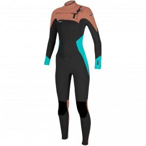 O'Neill Women's SuperFreak 4/3 Chest Zip Wetsuit