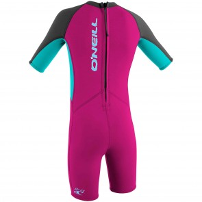 O'Neill Toddler Girls Reactor 2mm Spring Wetsuit