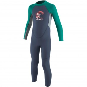 O'Neill Toddler Girls Reactor 2mm Wetsuit