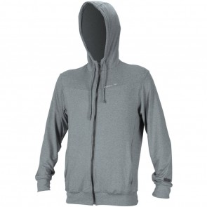 O'Neill Wetsuits Hybrid Sun Zip Hoodie - Cool Grey