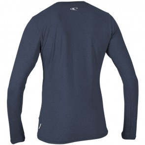 O'Neill Wetsuits Women's Hybrid Long Sleeve Rash Tee - Mist