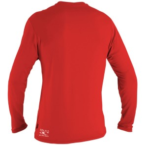 O'Neill Toddler Skins Long Sleeve Rash Tee - Red