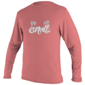 O'Neill Wetsuits Toddler Skins Long Sleeve Rash Tee - Coral