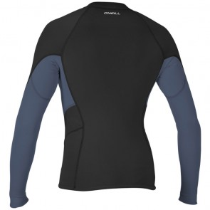 O'Neill Wetsuits Women's Bahia 2mm Chest Zip Jacket - Black/Mist