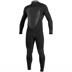 O'Neill Psycho Freak 4/3 Back Zip Wetsuit - Black