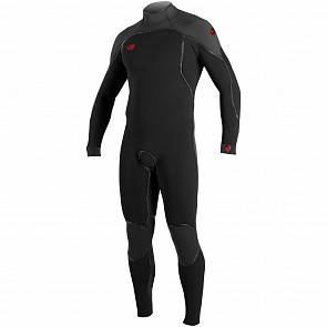 O'Neill Psycho I 3/2 Back Zip Wetsuit - Black/Graphite
