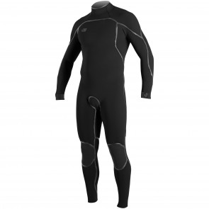 O'Neill Psycho I 4/3 Back Zip Wetsuit - Black