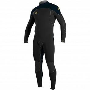 O'Neill Psycho I 4/3 Back Zip Wetsuit - Black/Slate